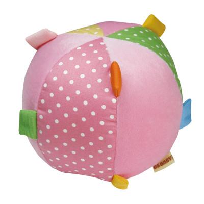 【優生】 布質寶寶學習球(粉)--寶寶玩具/互動遊戲/益智玩具/幼兒學習發展 u1305401P (9折)