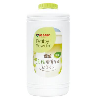 優生涼性爽身粉-綠茶香氛300g (7.7折)