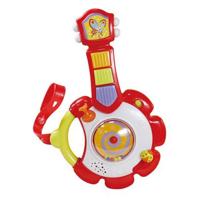 限時特價★優生 兒童聲光學習玩具 -《寶寶歡樂小樂器-吉他》 GU80002 (7.2折)