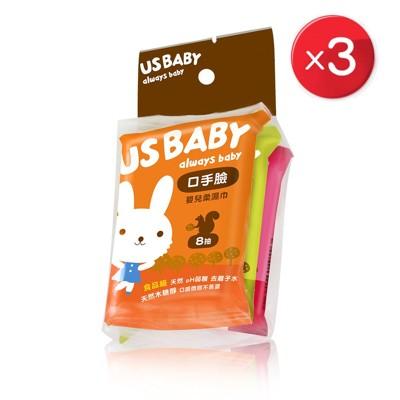 【優生】優生口手臉柔潤柔濕巾隨身包(8抽3入3包) GU9532019 (9折)