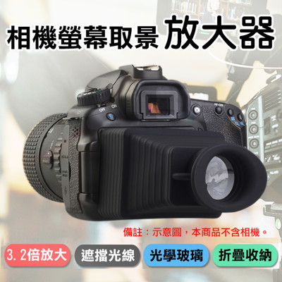 相機螢幕取景放大器 螢幕放大鏡 (7折)