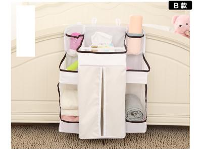 寶寶懸掛式整理袋 尿布收納袋 嬰兒床頭掛袋 (7.3折)