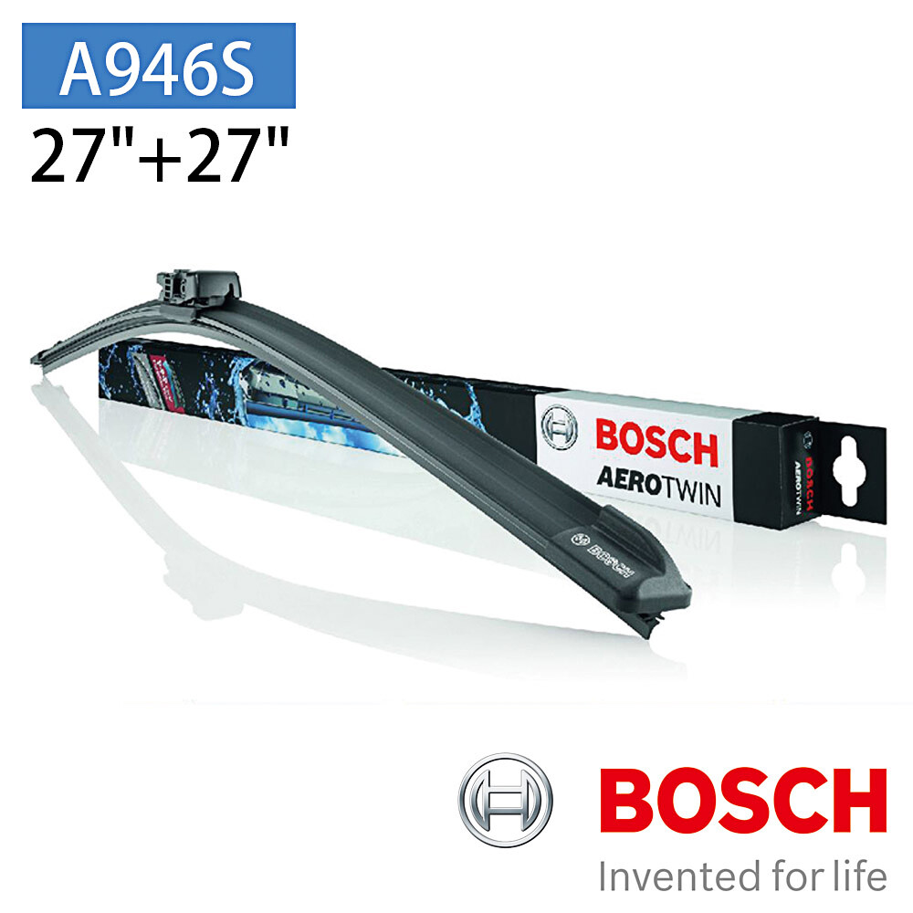 """bosch 博世 aero twin a946s 27""""/27"""" 汽車專用軟骨雨刷"""