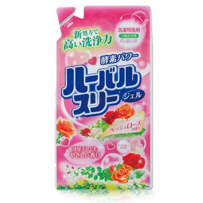 【日本mitsuei美淨易】玫瑰花香酵素洗衣精-補充包810g《多入優惠組》 (3.1折)