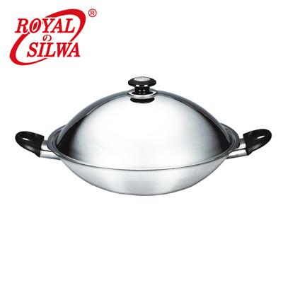 《皇家西華》五層複合金炒鍋40cm (6.4折)
