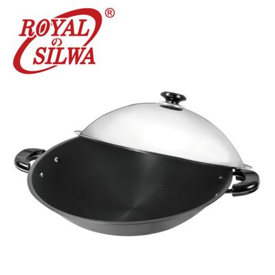 《皇家西華》超硬陽極炒鍋40cm (5.3折)