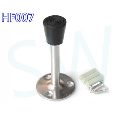 HF007 不銹鋼 一字型門止一字門擋 1字型 拉絲銀 一字型門檔 無磁戶擋 門扣 門碰 門頂 長形 (7折)