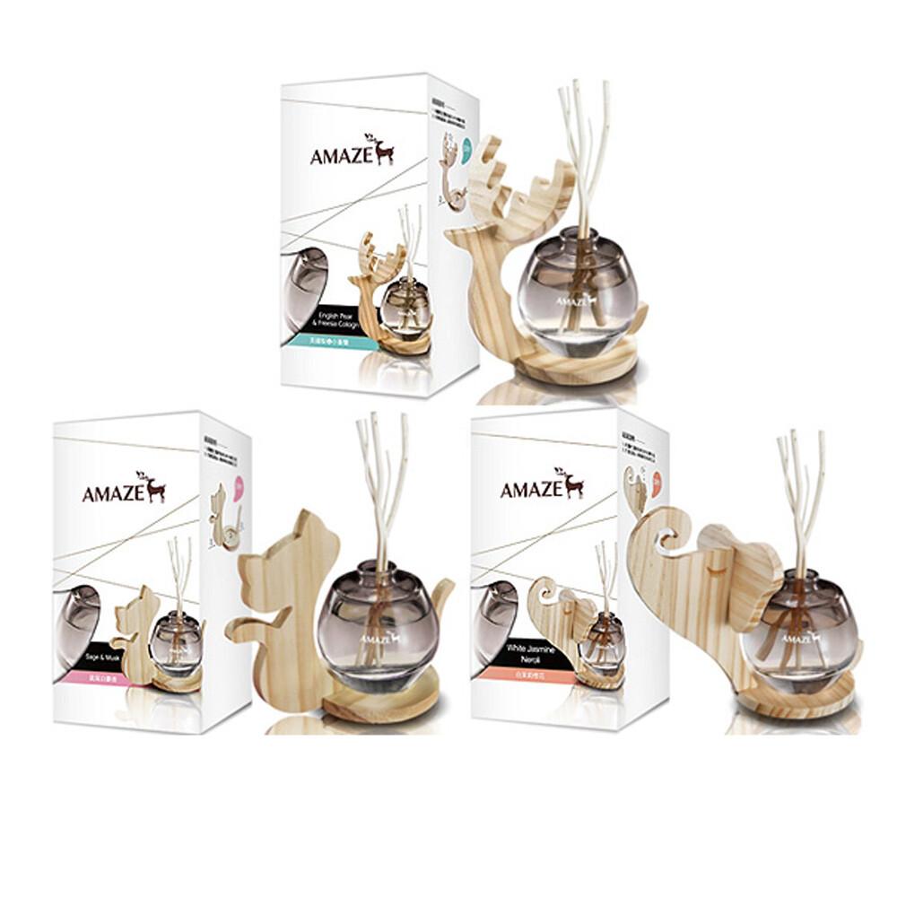 amaze 森林擴香 90ml (補充瓶)-白茉莉橙花 香竹 芳香劑 薰香器 香氛機