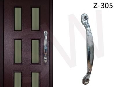 Z-305高雅把手 160mm 雕花 門把 手把 把手 取手 握把 拉手 引手 抽屜把手 大門 鋁門 (2.5折)