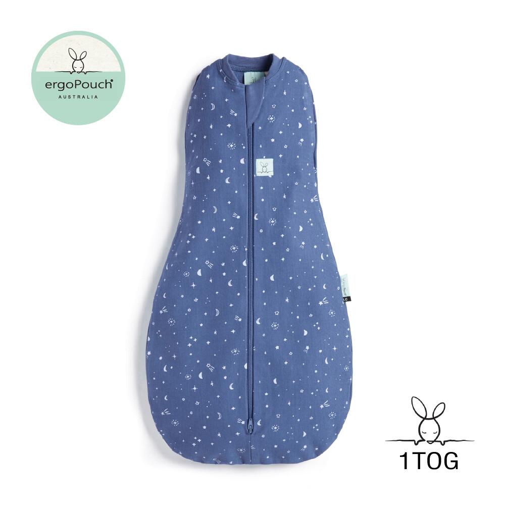 澳洲 ergopouch 二合一舒眠包巾 1tog 星空藍