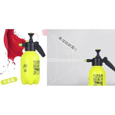 升級款 2l 氣壓式 噴瓶 園藝澆花瓶 氣壓噴瓶 噴霧器 水柱 打氣 - 升級款-綠 (7.5折)