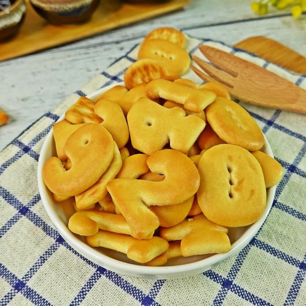 食尚三味數字餅乾 500g