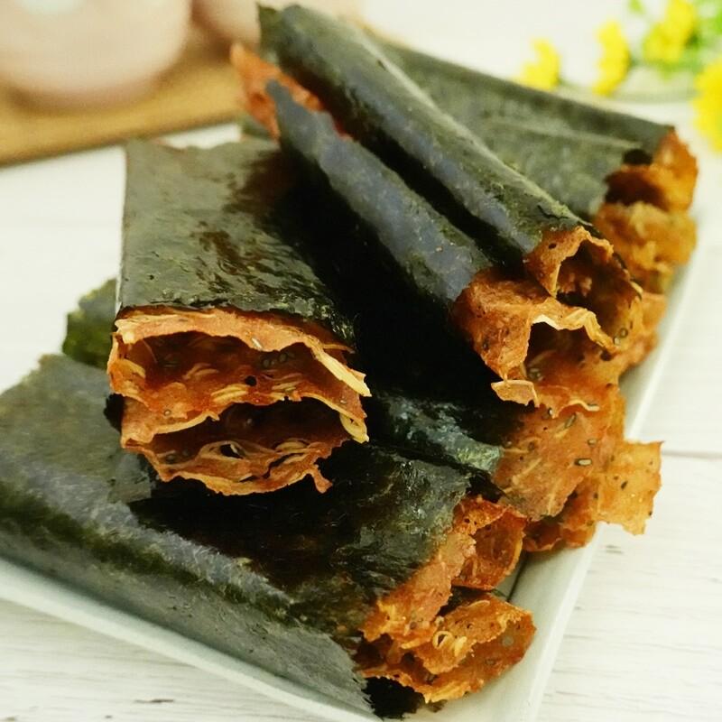 真開運香脆海苔肉紙卷禮盒-綜合b (原味+芥末味) 280g