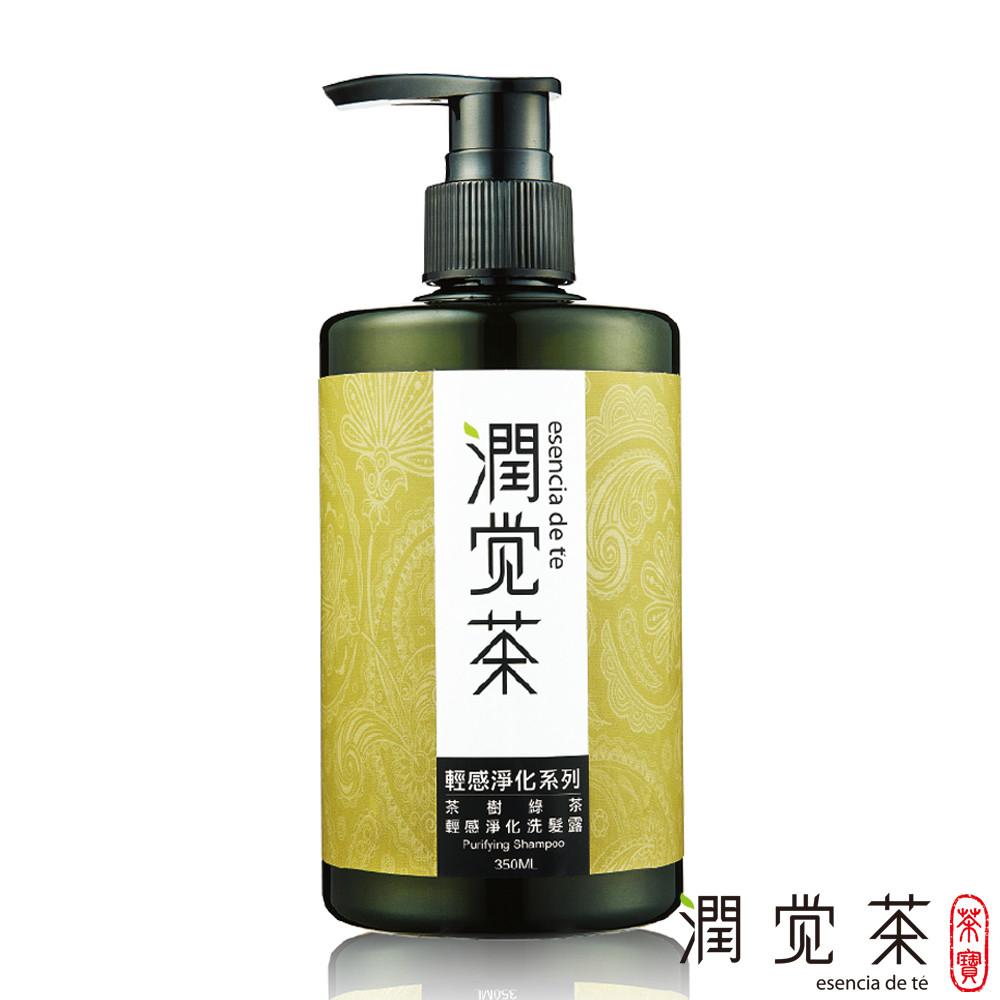 茶寶 潤覺茶 茶樹綠茶輕感淨化洗髮露350ml