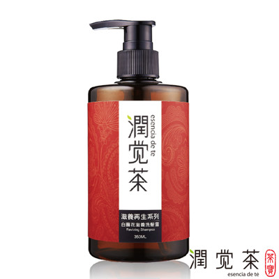 【茶寶 潤覺茶】白薑花滋養洗髮露350ml (8.1折)