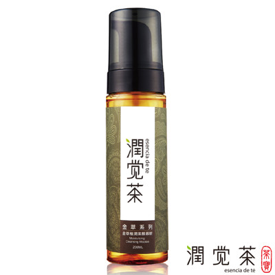 【茶寶 潤覺茶】金萃植潤潔顏慕斯200ml (7.7折)