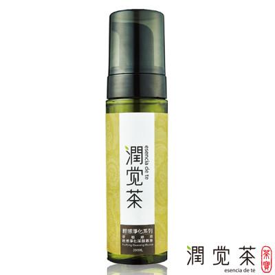 【茶寶 潤覺茶】茶樹綠茶輕感淨化潔顏慕斯200ml (7.7折)