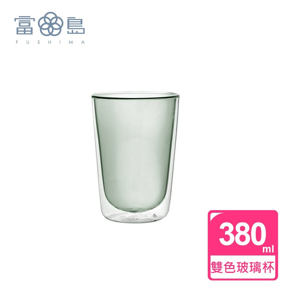 addicted系列-雙層玻璃杯380ml-時尚貴族黑