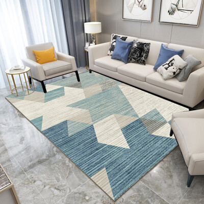 北歐藝術格調水晶絨地毯 (防磨 防滑 地墊)