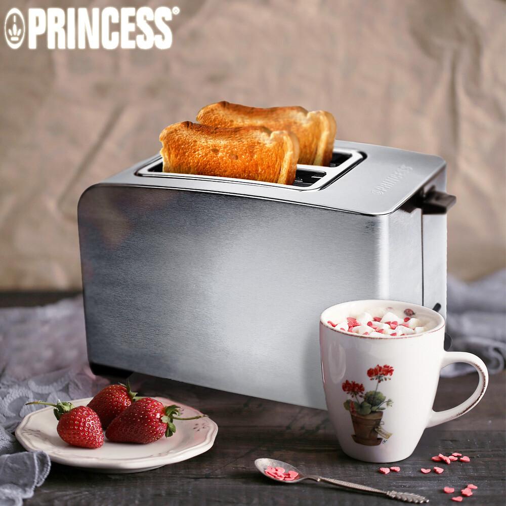 荷蘭公主princess不鏽鋼厚薄片烤麵包機-142356jc科技