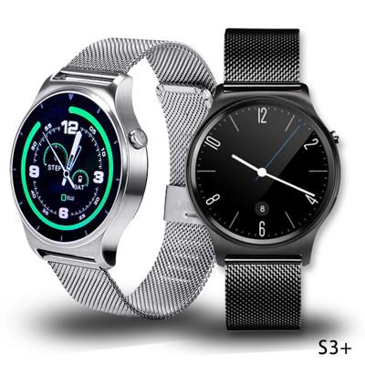 【SAMGO】S3+ 經典米蘭尼斯金屬鍊帶通話手錶 (7.4折)