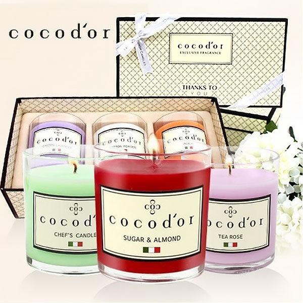 cocod'or 韓國精油蠟燭130g單入
