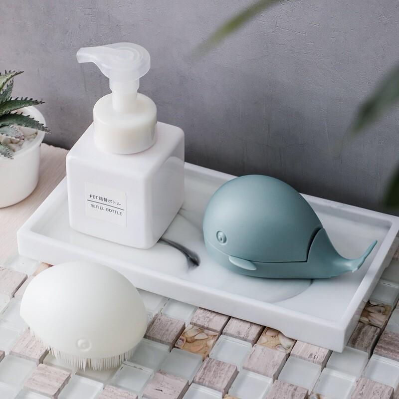 創意小鯨魚洗衣刷清潔刷m1621alex shop
