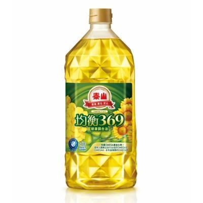 泰山 均衡369健康調合油 (2L*6入/箱) (7.9折)