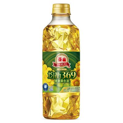 泰山 均衡369健康調合油 (1L*12入/箱) (6.5折)