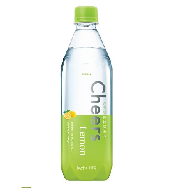 cheers lemon 檸檬氣泡水 590ml 泰山 (24罐/箱)