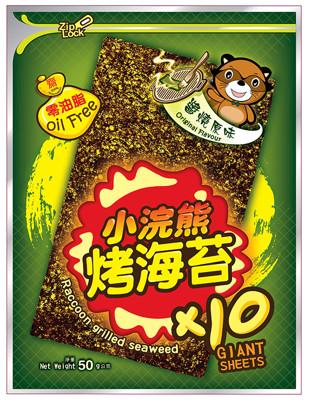 超夯泰國小浣熊烤海苔 (6.5折)