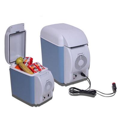 gl140車用冰箱7.5l 車載冰箱 12v迷你小冰箱帶杯架 冷熱型冰箱 保冷保溫 母乳 (7.6折)