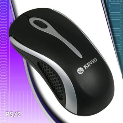 【DC253】PS2光學滑鼠KM613滑鼠KINYO電腦滑鼠PS/2有線滑鼠1000dpi (5.8折)