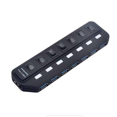 【DD353】USB3.0 HUB 7埠 高速集線器 7Port分線器 集線器 擴展器 分線器 分享 (7.2折)