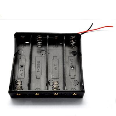 dy35418650電池盒18650電池座(不含蓋) 4節串聯 電池盒 行動電源 (5.8折)