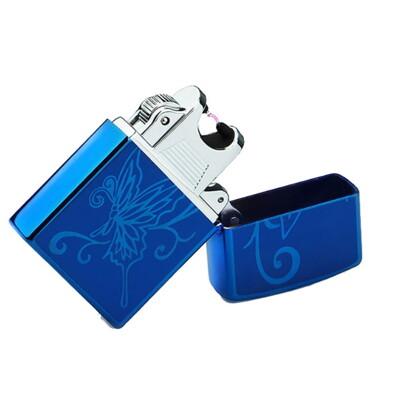 【GE270】金屬防風USB充電電弧脈衝打火機 點煙器 USB打火機 充電式打火機電子點煙器 (4.8折)