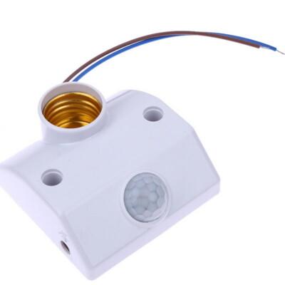 【GM413】人體感應燈座.感應開關.紅外線感應燈座 可調感光時間感應器 (4.3折)
