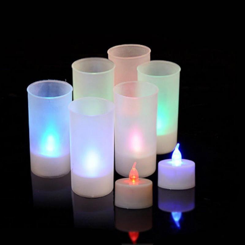 dz345聲控蠟燭燈- 單彩色 浪漫聲控蠟燭.模擬蠟燭吹了就熄 led蠟燭燈 婚禮小物