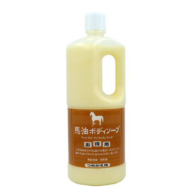 【旅美人】馬油 沐浴乳補充瓶 1000ml (7.7折)