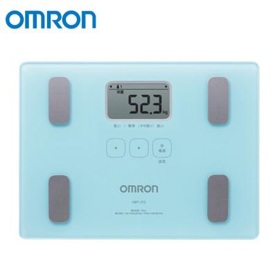 OMRON 歐姆龍體脂計 湖水藍 HBF-212 (8.7折)
