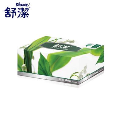 舒潔 環保超柔盒裝面紙 160抽 5盒 10袋 共50盒 (0.1折)