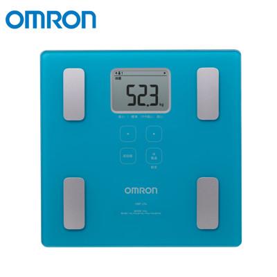 OMRON 歐姆龍 二點式體脂機 藍色 HBF-214 (8折)
