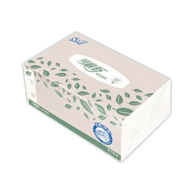 可麗舒 大容量環保超柔補充包面紙 270抽 共60包  一包抵3包 (0.1折)