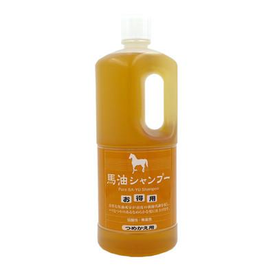 【旅美人】馬油 洗髮水補充瓶 1000ml (7.7折)