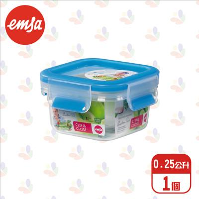 德國進口 EMSA 愛慕莎 保鮮盒515729 0.25L /2入/4入/6入 (6.9折)