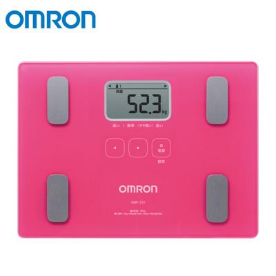 OMRON 歐姆龍體脂計 桃紅色 HBF-212 (9折)