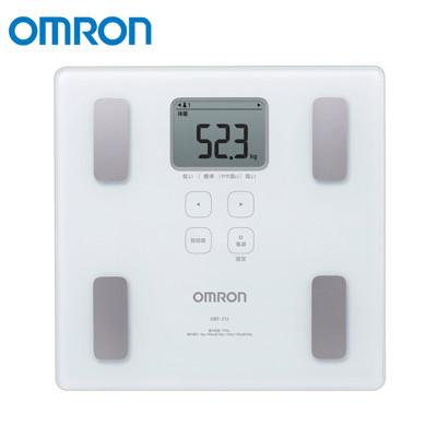 OMRON 歐姆龍 二點式體脂機 白色 HBF-214 (8折)