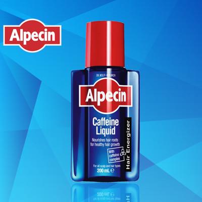 Alpecin 德國髮現工程 咖啡因頭髮液 200ml 2入/3入 (7.5折)