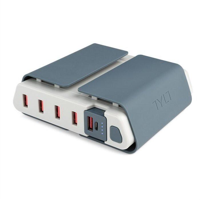 美國tylt energi charging station 多孔行動充電座