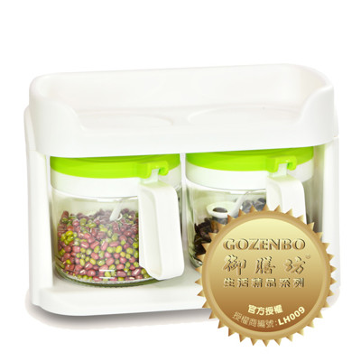 健康煮玻璃調味罐組-2入組 (8折)